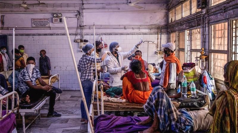 भारतमा एकैदिन दुई लाखभन्दा बढीमा कोरोना संक्रमण
