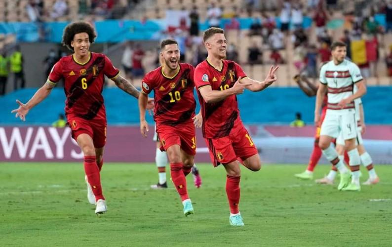 पोर्चुगललाई हराउँदै बेल्जियम युरोकपको क्वाटरफाइनलमा
