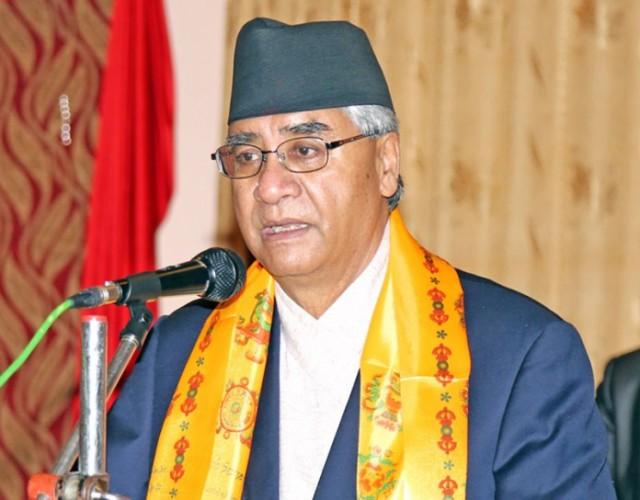 नेपाली कांग्रेसका सभापति  देउवा प्रधानमन्त्री नियुक्त