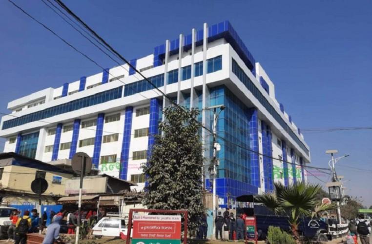 वीर अस्पतालको नयाँ भवन कोभिड–१९ अस्पताल बनाउने तयारी