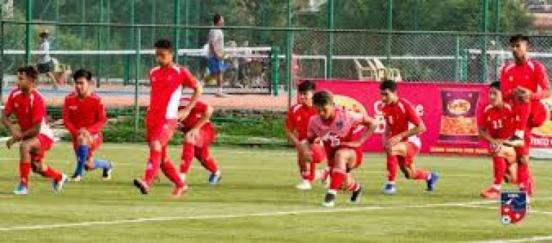 नेपाली राष्ट्रिय फुटबल टिमले आजदेखि प्रशिक्षण सुरु गर्ने