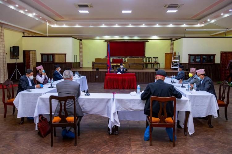नेकपा सचिवालय बैठक स्थगित, कहिले बस्ने टुङ्गो छैन