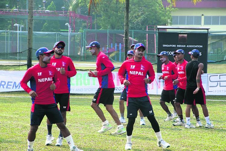 नेपाली राष्ट्रिय क्रिकेट टोलीको बन्द प्रशिक्षणका लागि आज कोरोना परीक्षण हुने