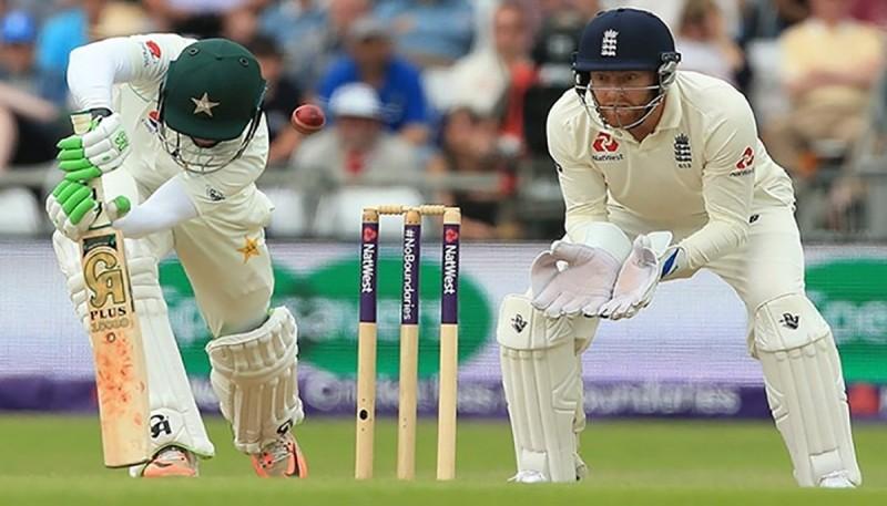 पाकिस्तान विरुद्धको पहिलो टेस्ट इंग्ल्याण्डको पोल्टोमा